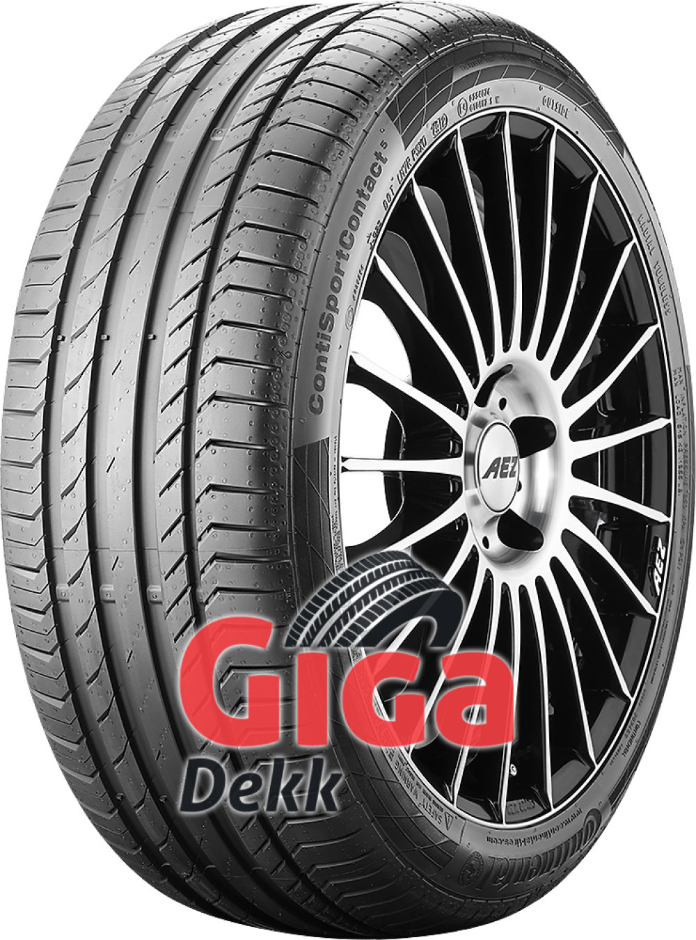 Continental ContiSportContact 5 ( 255/50 R20 109W XL med felgkant, SUV, J )