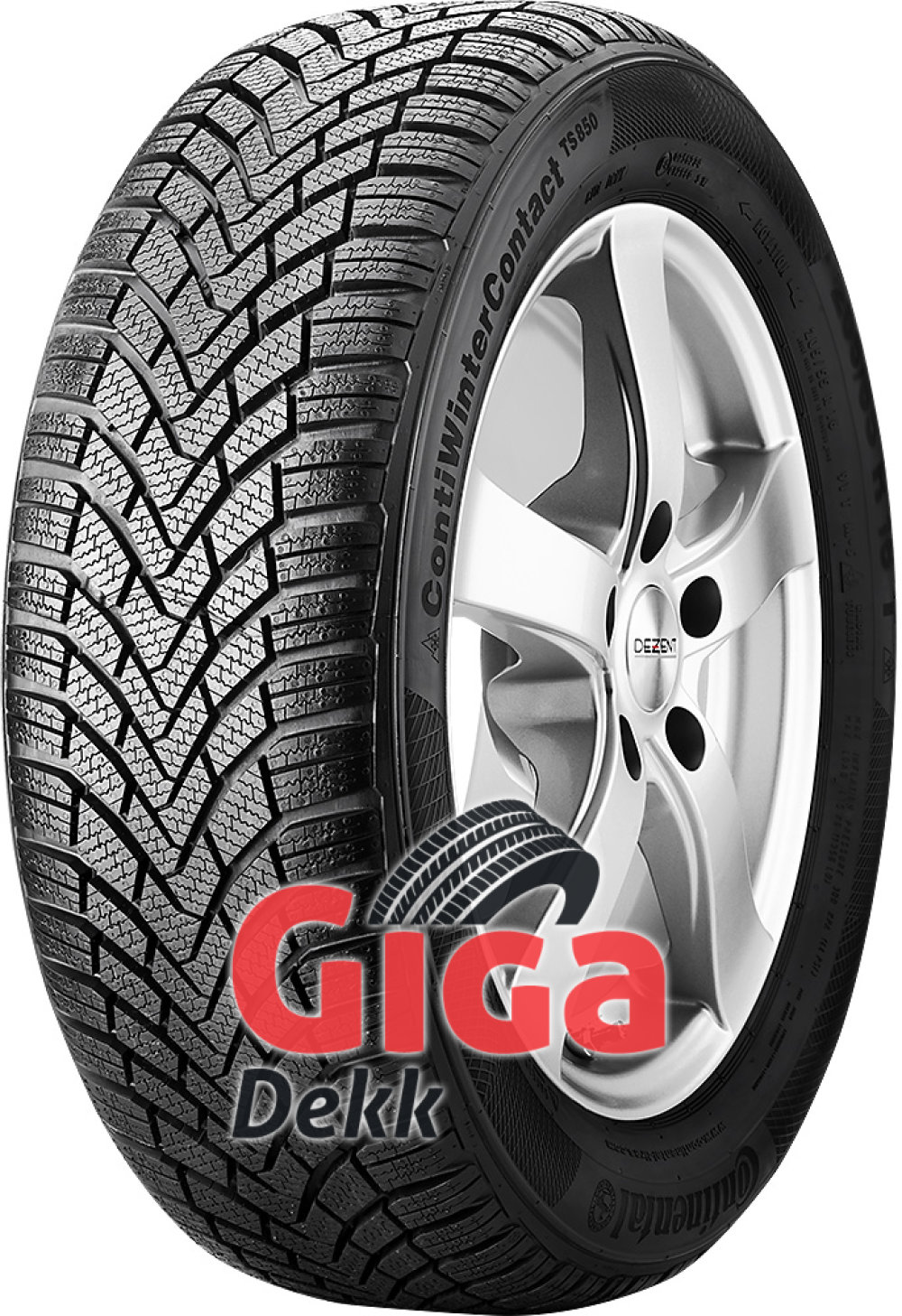 Continental WinterContact TS 850 ( 195/55 R15 85H )