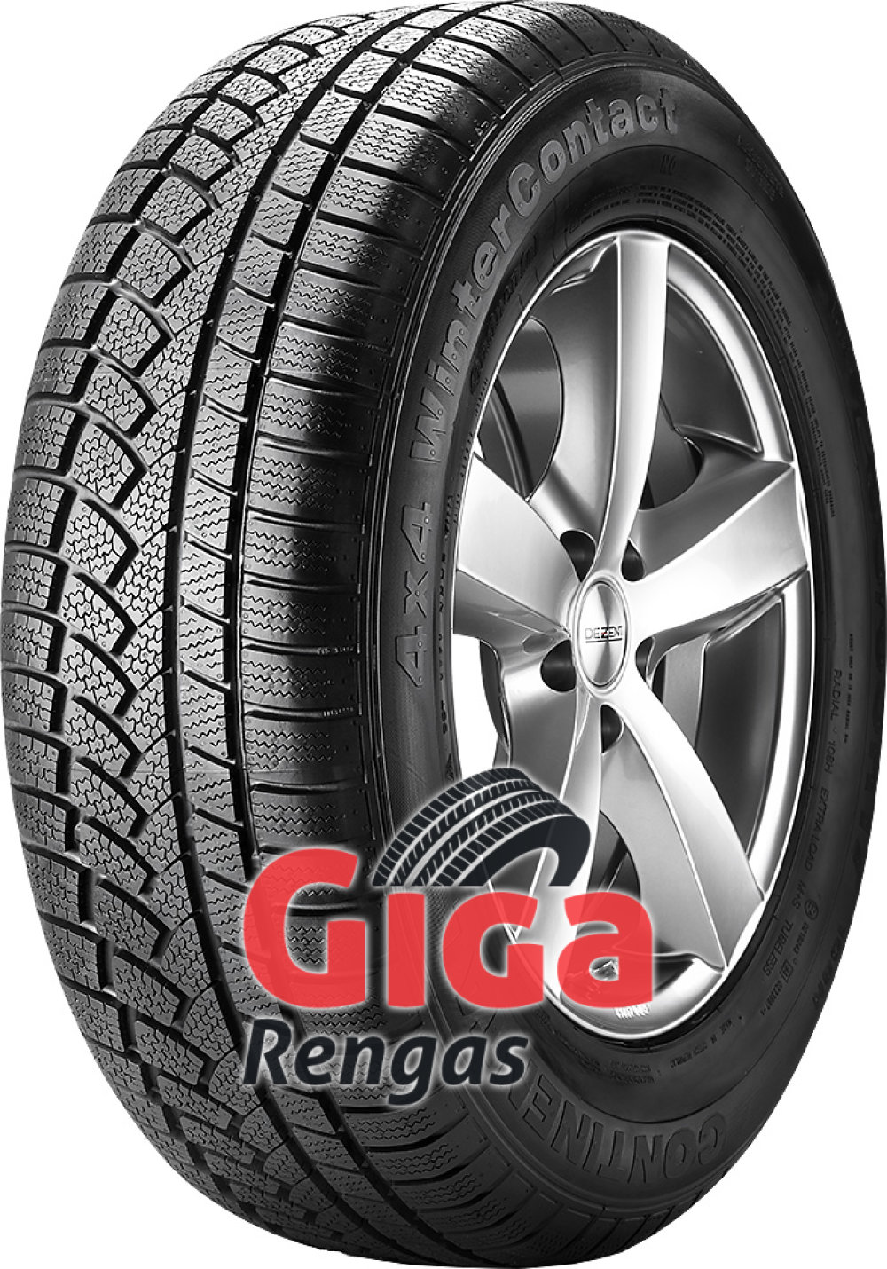 Continental 4X4 WinterContact ( 275/55 R17 109H )