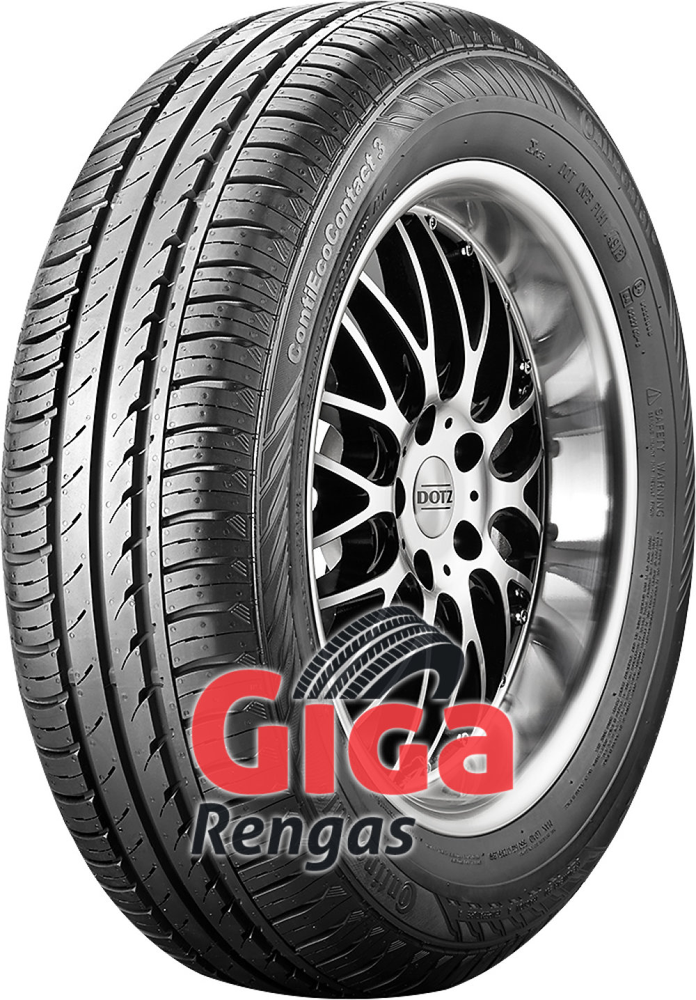 Continental EcoContact 3 ( 165/65 R14 79T )