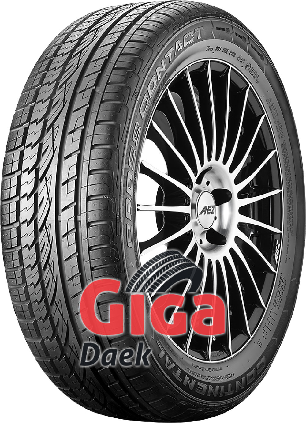 Continental ContiCrossContact UHP E ( 235/55 R19 105V XL Med fælgribbe )