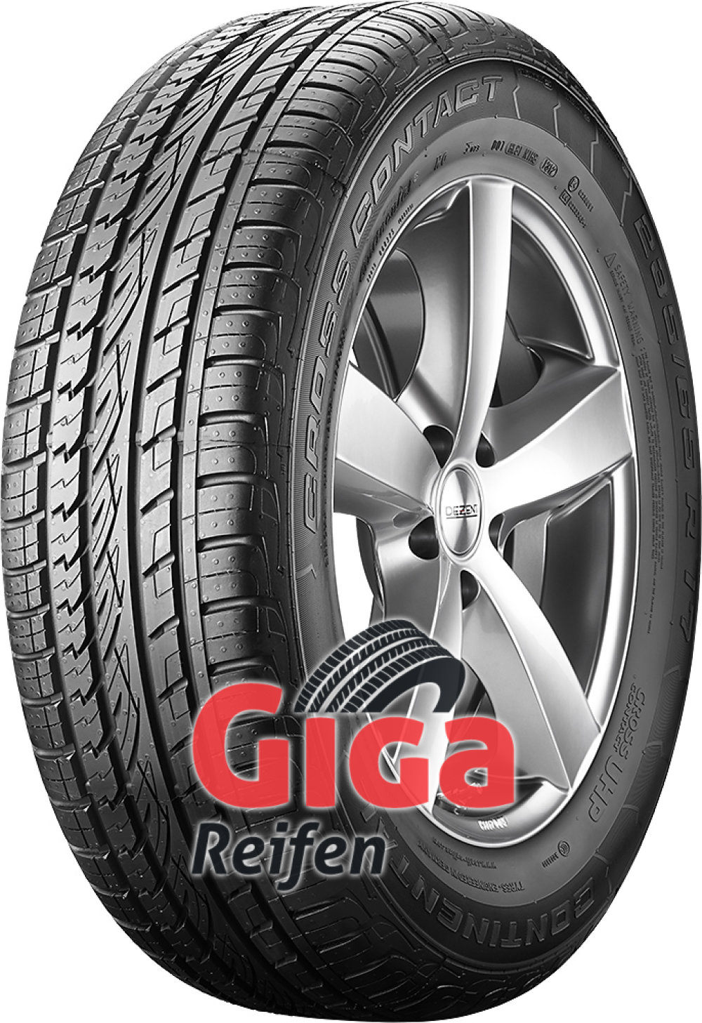 Continental ContiCrossContact UHP ( 255/50 R20 109Y XL mit Felgenrippe )