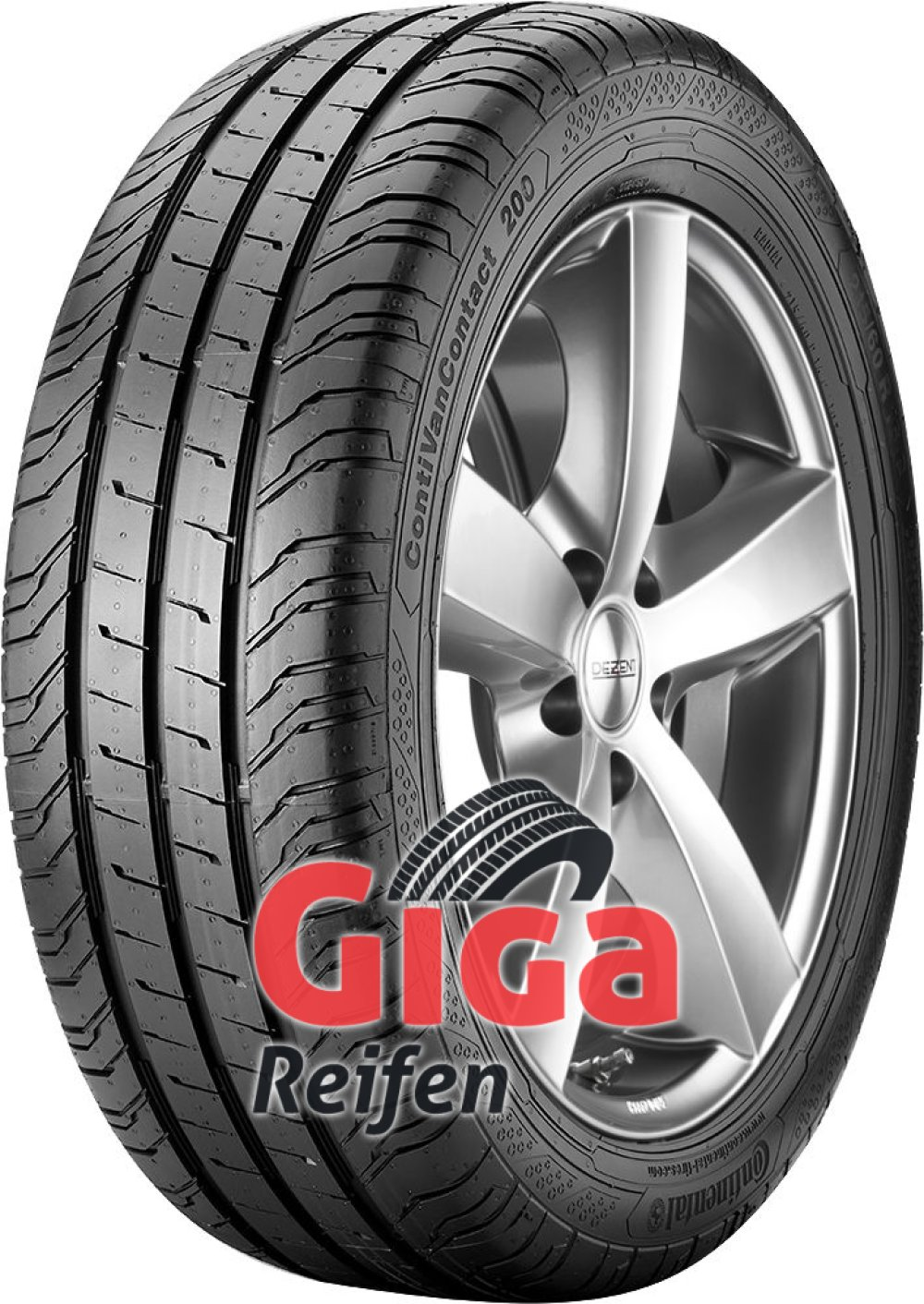 Continental ContiVanContact 200 ( 205/65 R16C 107/105T 8PR Doppelkennung 103H )