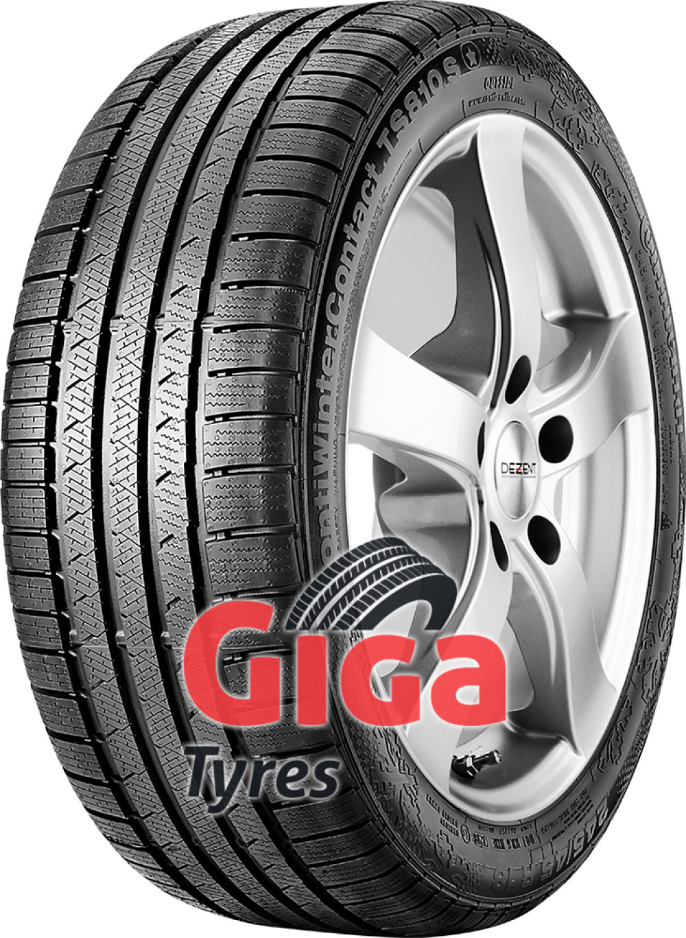 Continental ContiWinterContact TS 810 S ( 245/40 R18 97W XL AO, with kerbing rib )