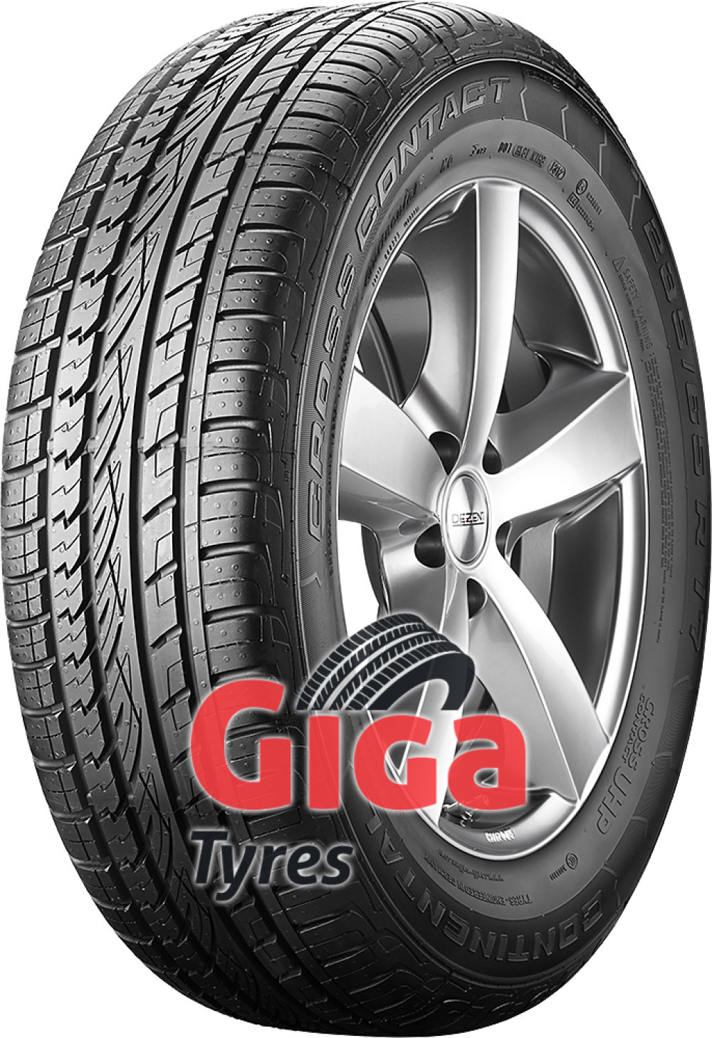 Continental ContiCrossContact UHP ( 265/50 R20 111V XL with kerbing rib )