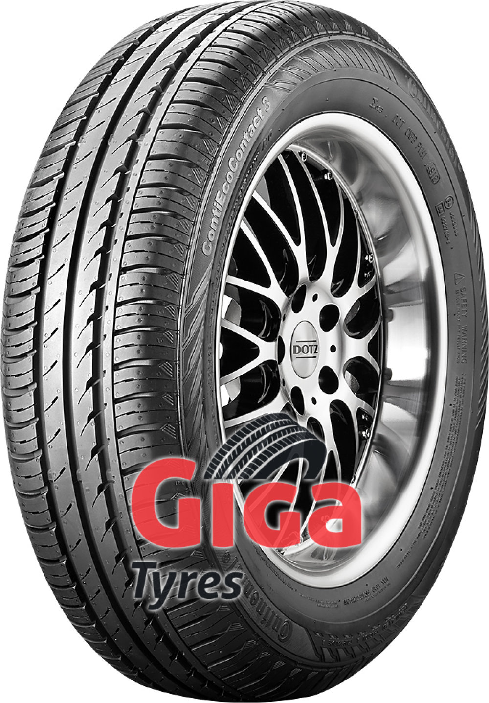 Continental EcoContact 3 ( 155/65 R14 75T AO )
