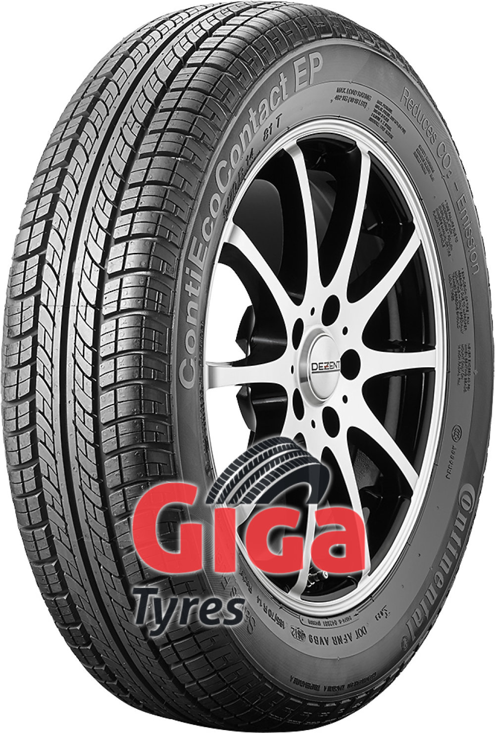 Continental EcoContact EP ( 175/55 R15 77T with kerbing rib )