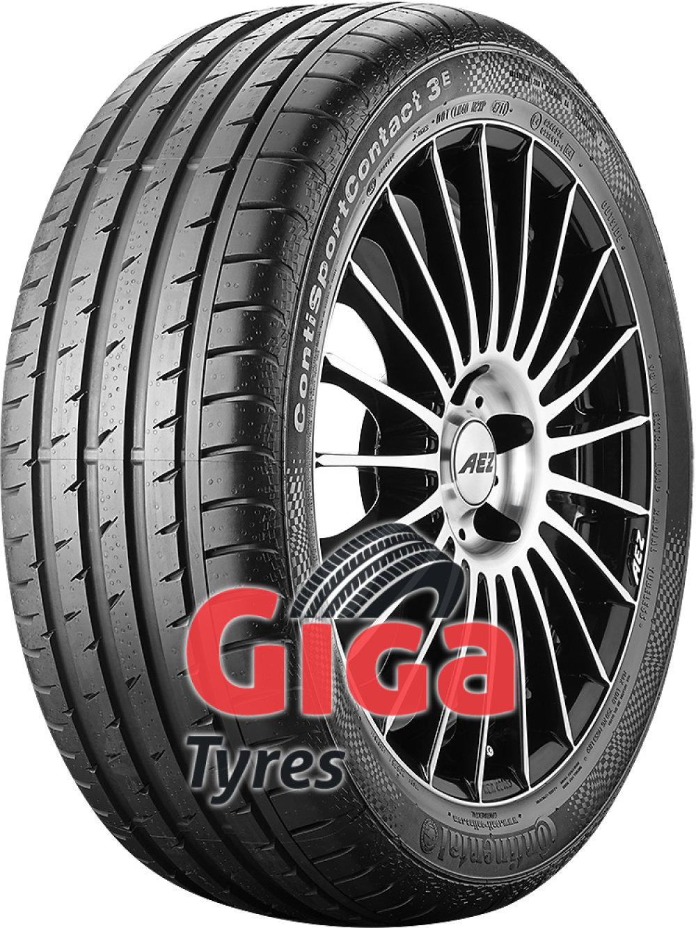 Continental ContiSportContact 3 E SSR ( 235/45 R17 97W with kerbing rib, runflat )