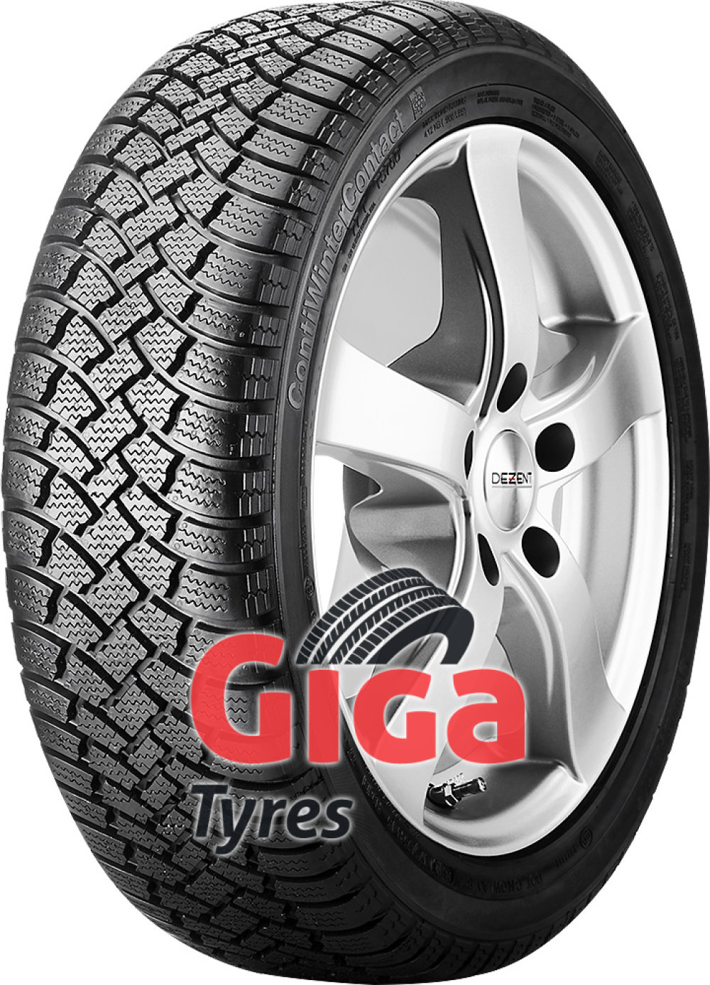 Continental ContiWinterContact TS 760 ( 135/70 R15 70T , with kerbing rib )