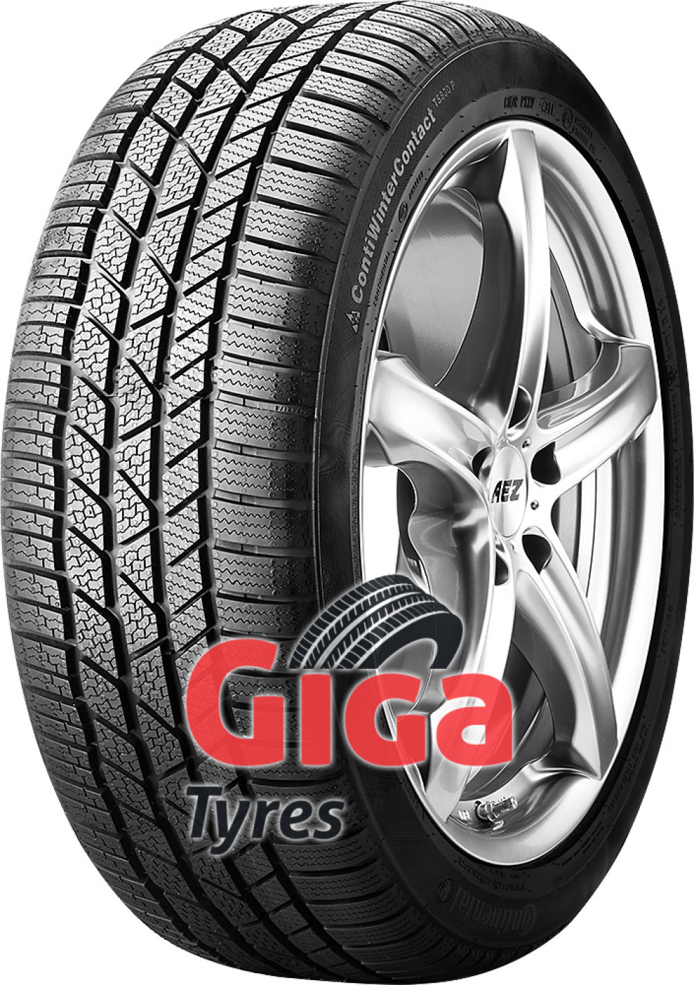 Continental WinterContact TS 830P ( 285/30 R19 98V XL , with kerbing rib )