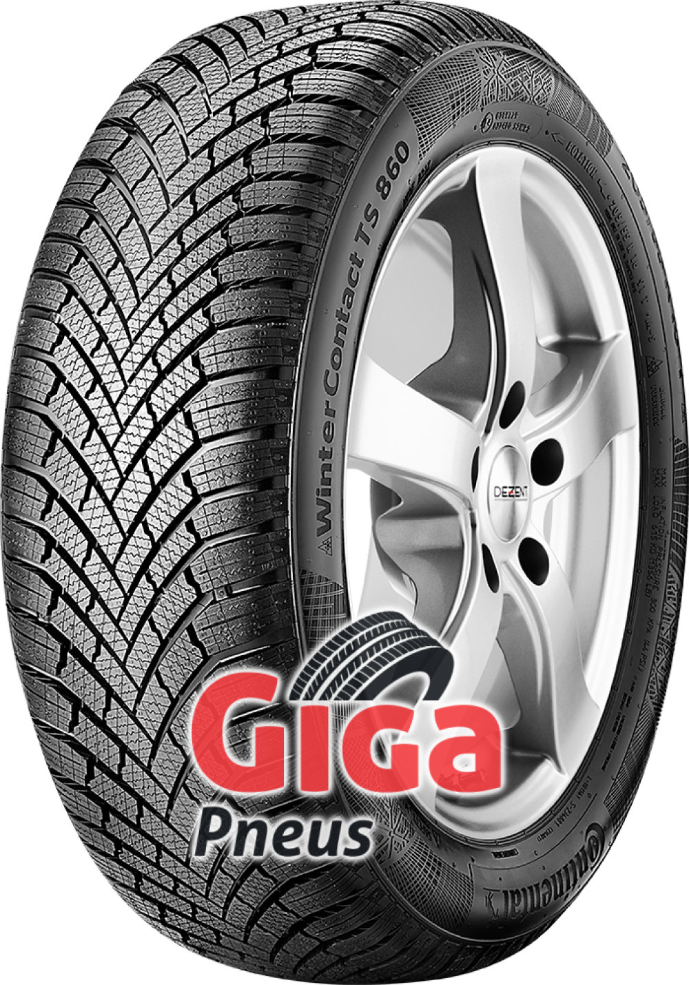 Continental WinterContact TS 860 ( 205/60 R15 91H )