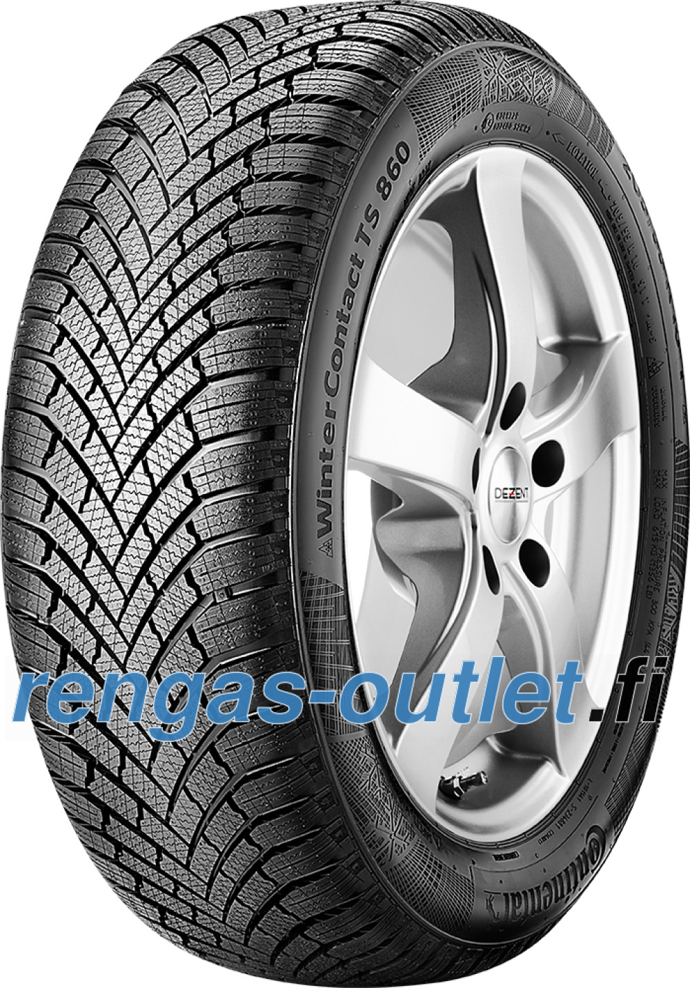 Continental WinterContact TS 860 ( 195/55 R15 85H )
