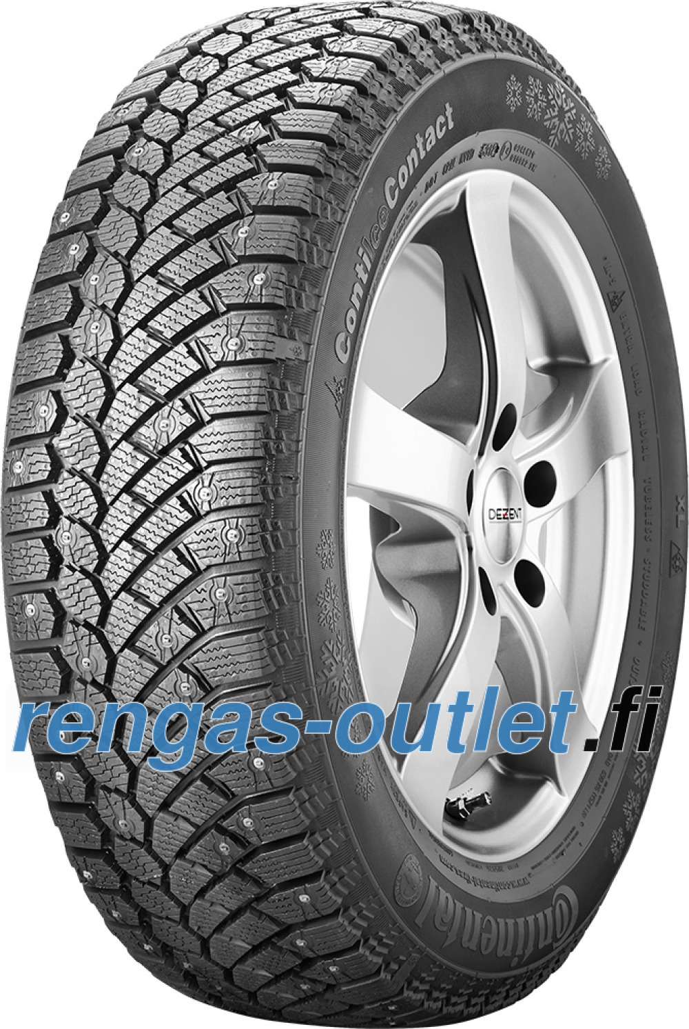 Continental ContiIceContact ( 235/45 R17 97T XL , nastarengas  )