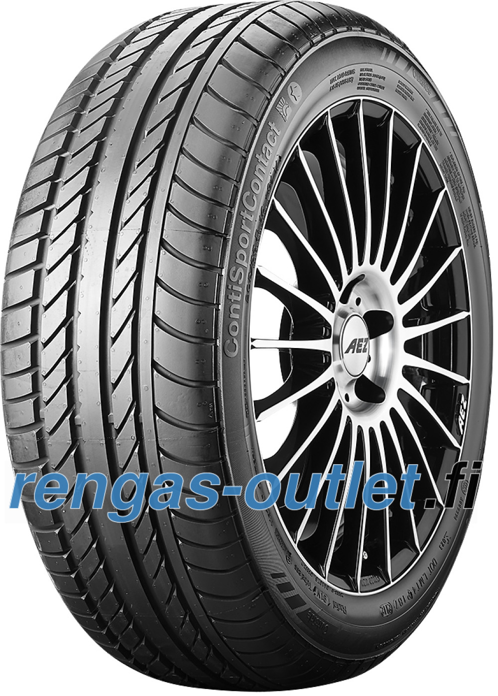 Continental SportContact ( 245/45 ZR16 94Y vannealueen ripalla , N2 )