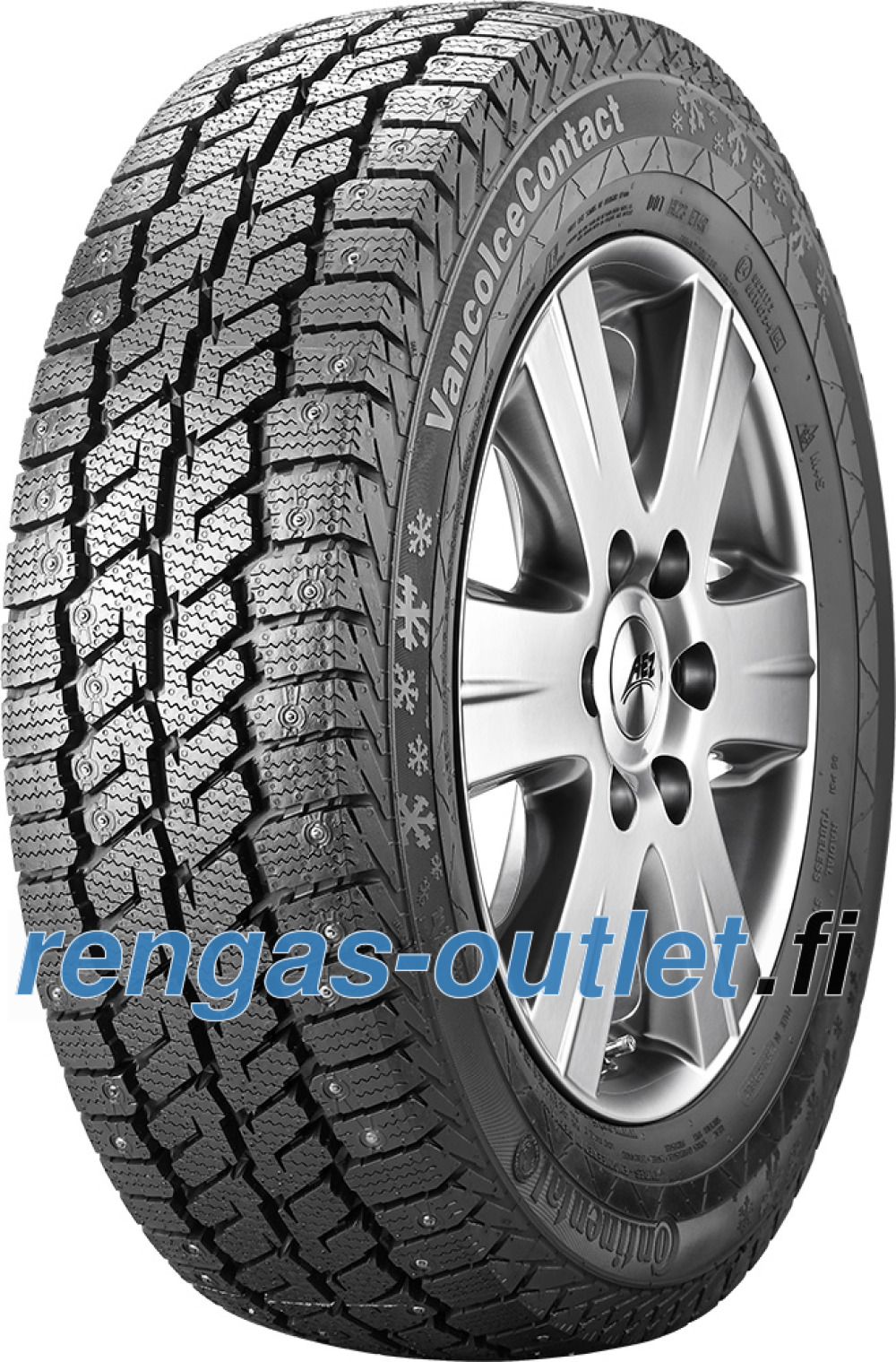 Continental Vanco Ice Contact ( 205/65 R16 107R nastarengas  )