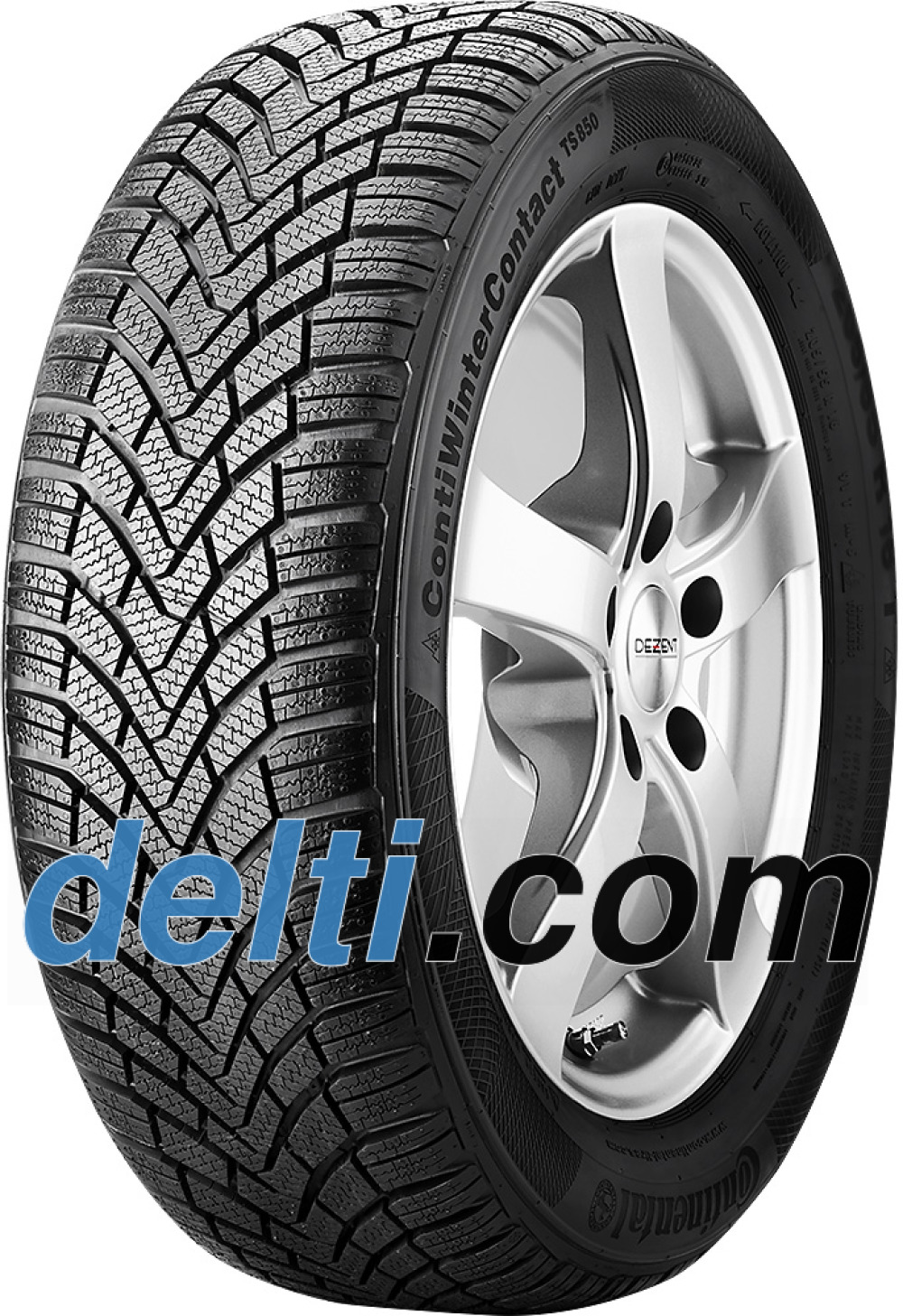 Continental WinterContact TS 850 ( 185/55 R14 80T )