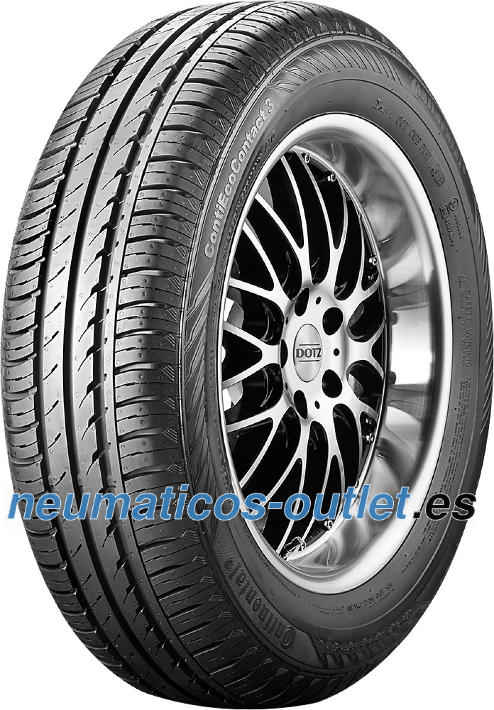 Continental EcoContact 3 ( 175/65 R13 80T )