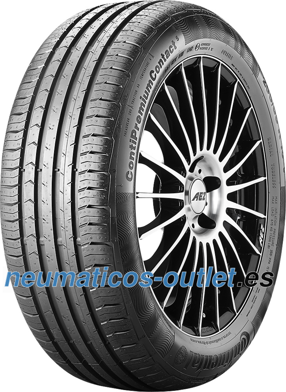 Continental PremiumContact 5 ( 205/65 R15 94H )