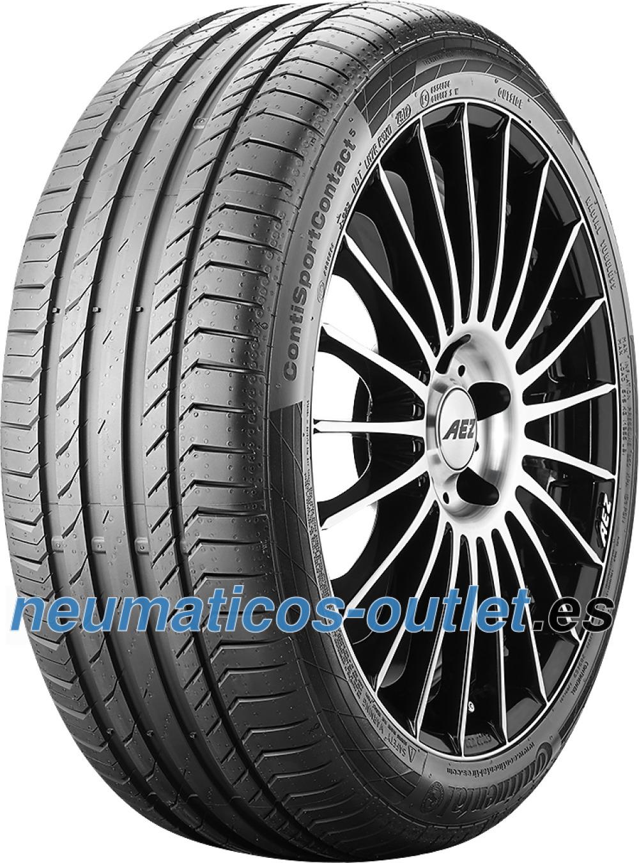 Continental ContiSportContact 5 ( 205/50 R17 89V con protección de llanta lateral )