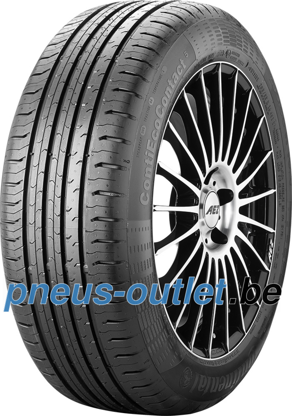 Continental EcoContact 5 ( 205/55 R17 91W MO )