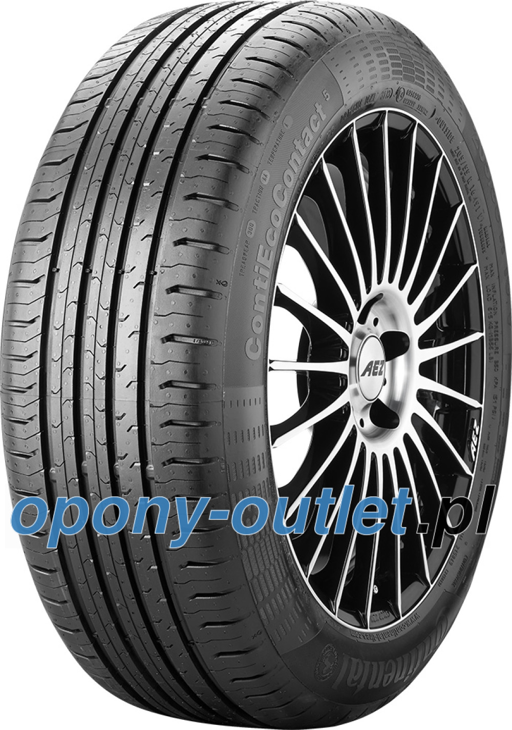 Continental EcoContact 5 ( 195/65 R15 95H XL )