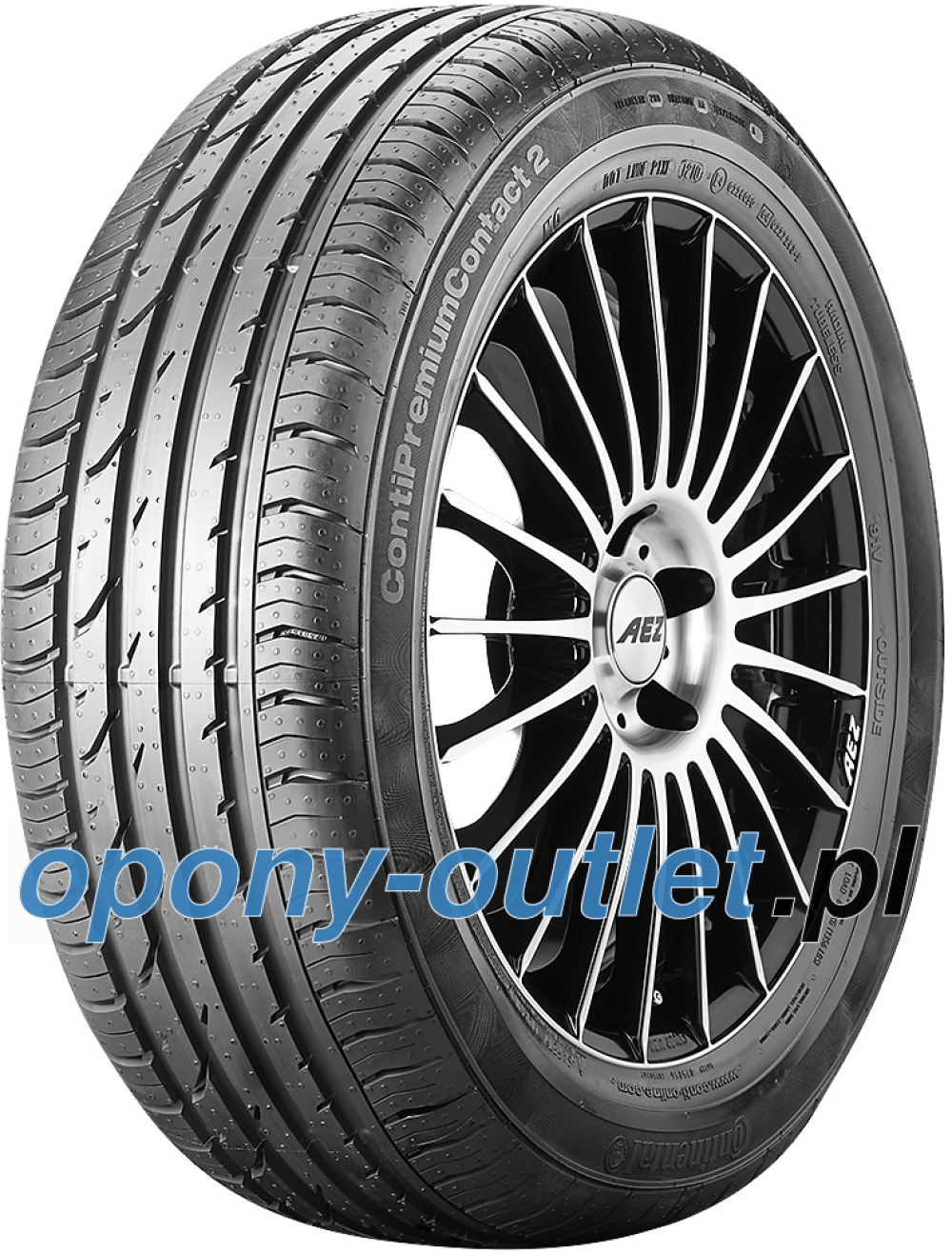 Continental PremiumContact 2 ( 195/55 R16 87H * )