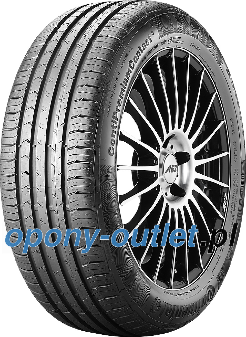 Continental PremiumContact 5 ( 205/60 R15 91V )