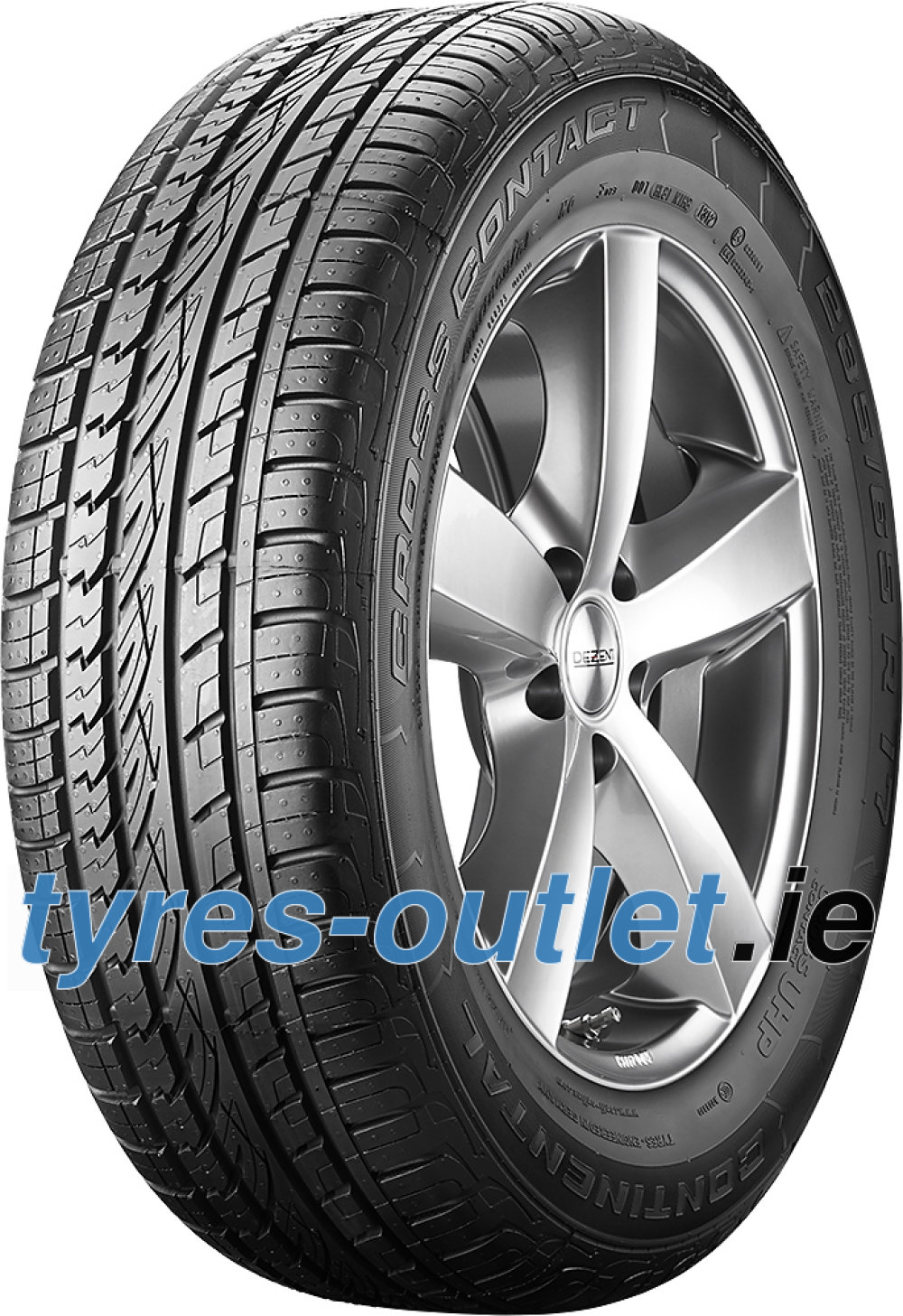 Continental ContiCrossContact UHP ( 235/45 R19 95W with kerbing rib )