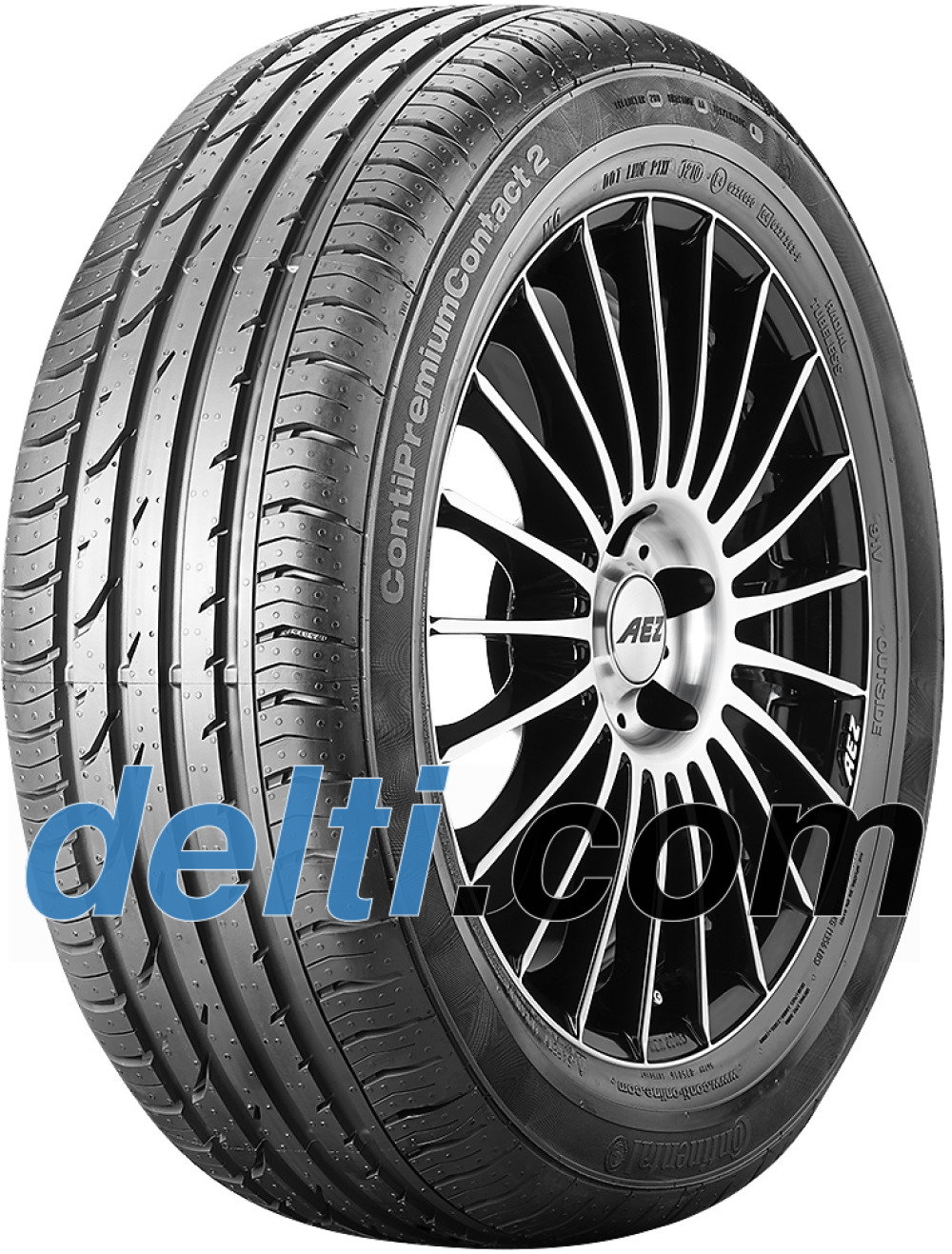 Continental PremiumContact 2 ( 225/50 R16 92V MO, with ridge  )
