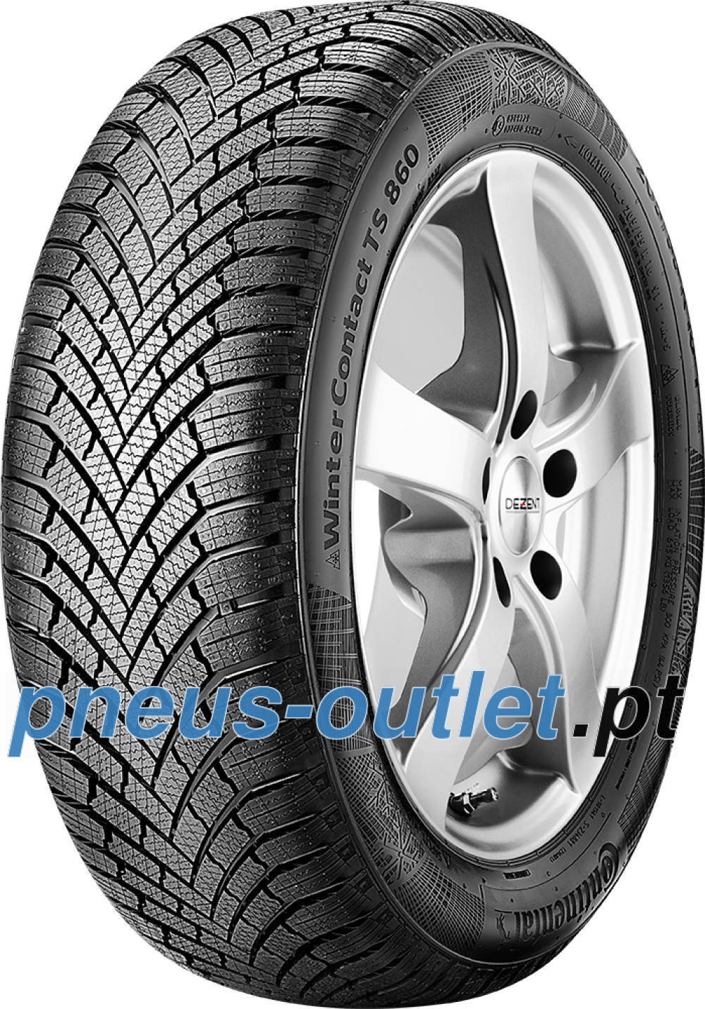 Continental WinterContact TS 860 ( 195/65 R15 91T )