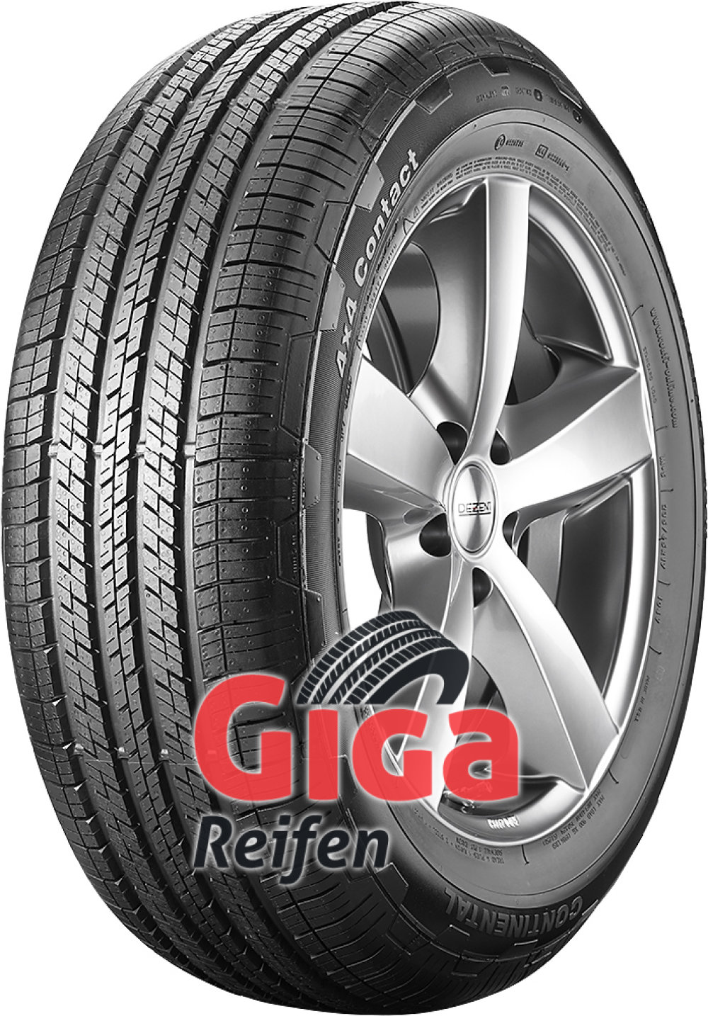 Continental 4X4 Contact ( 235/50 R19 99V , MO, mit Leiste )