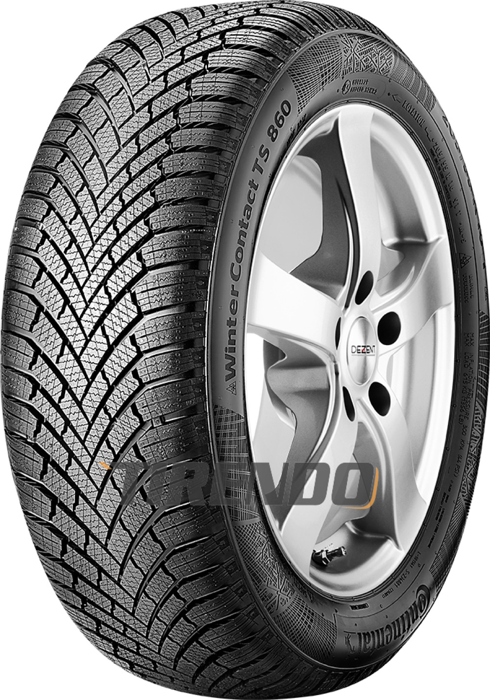 Continental WinterContact TS 860 ( 225/50 R17 98H XL mit Felgenrippe )