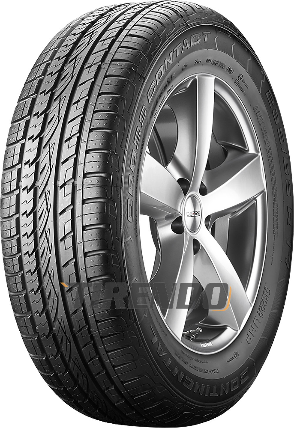 Continental ContiCrossContact UHP ( 255/50 R19 103W mit Leiste, mit Felgenrippe, MO )