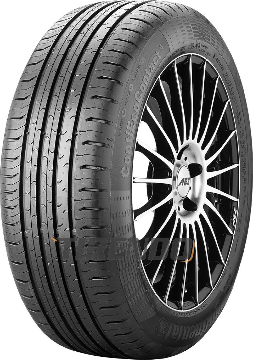 Continental EcoContact 5 ( 195/55 R16 91V XL )