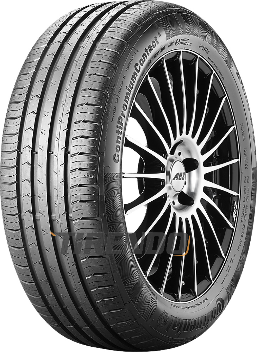 Continental PremiumContact 5 ( 195/50 R15 82V )