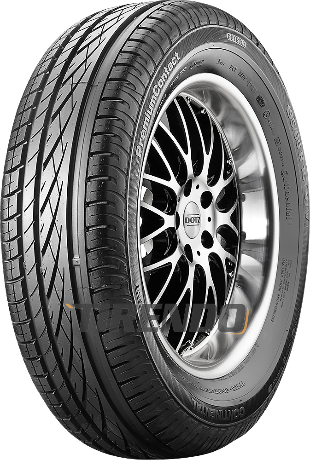 Continental ContiPremiumContact ( 275/50 R19 112W XL MO, mit Leiste )