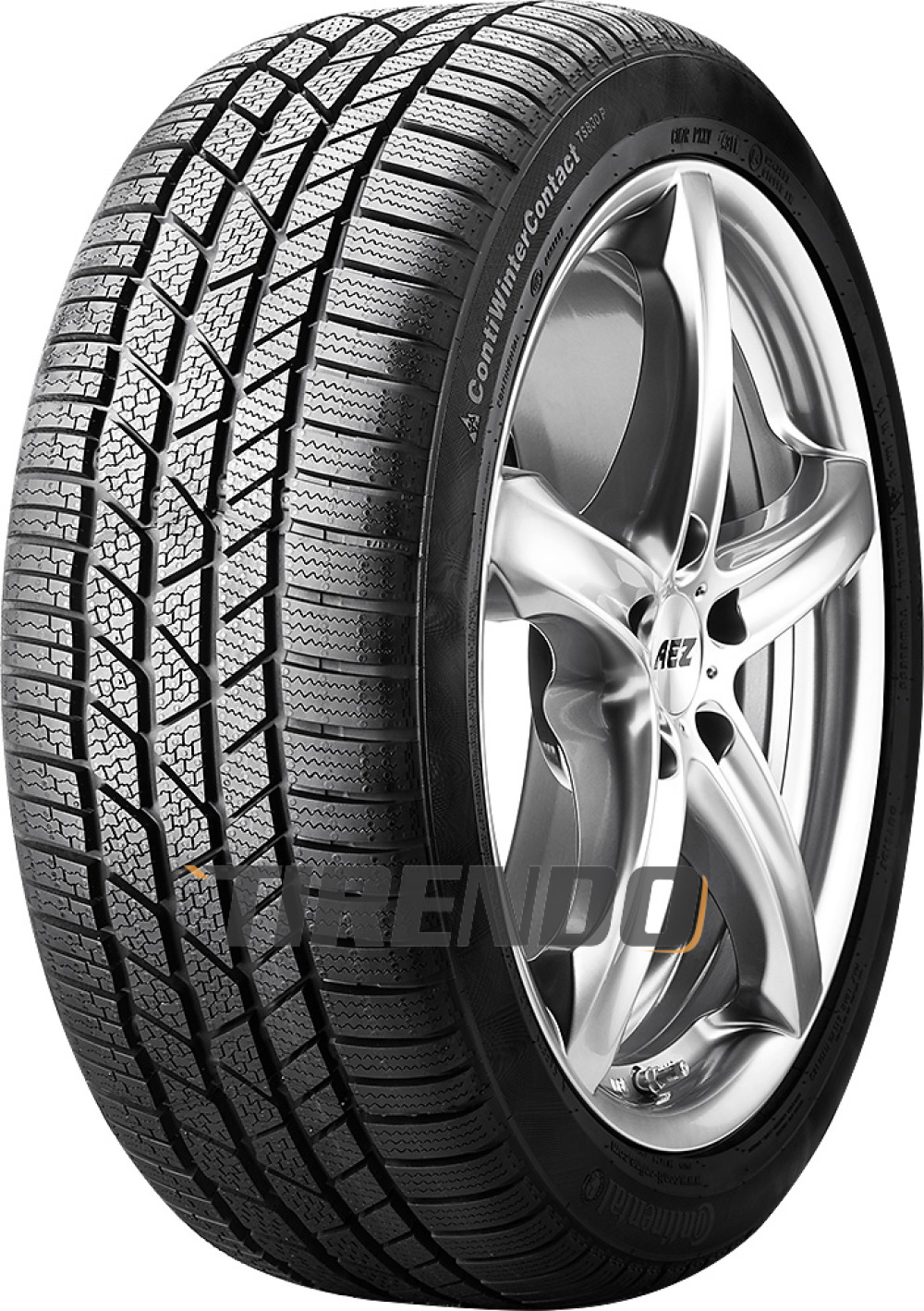 Continental WinterContact TS 830P ( 265/40 R19 98V N0, mit Felgenrippe )