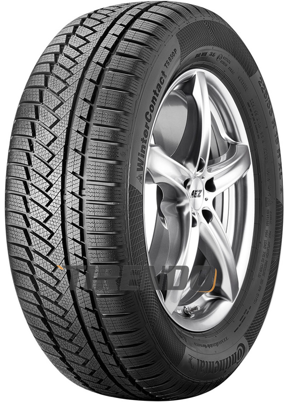 Continental WinterContact TS 850P ( 205/60 R16 92H )