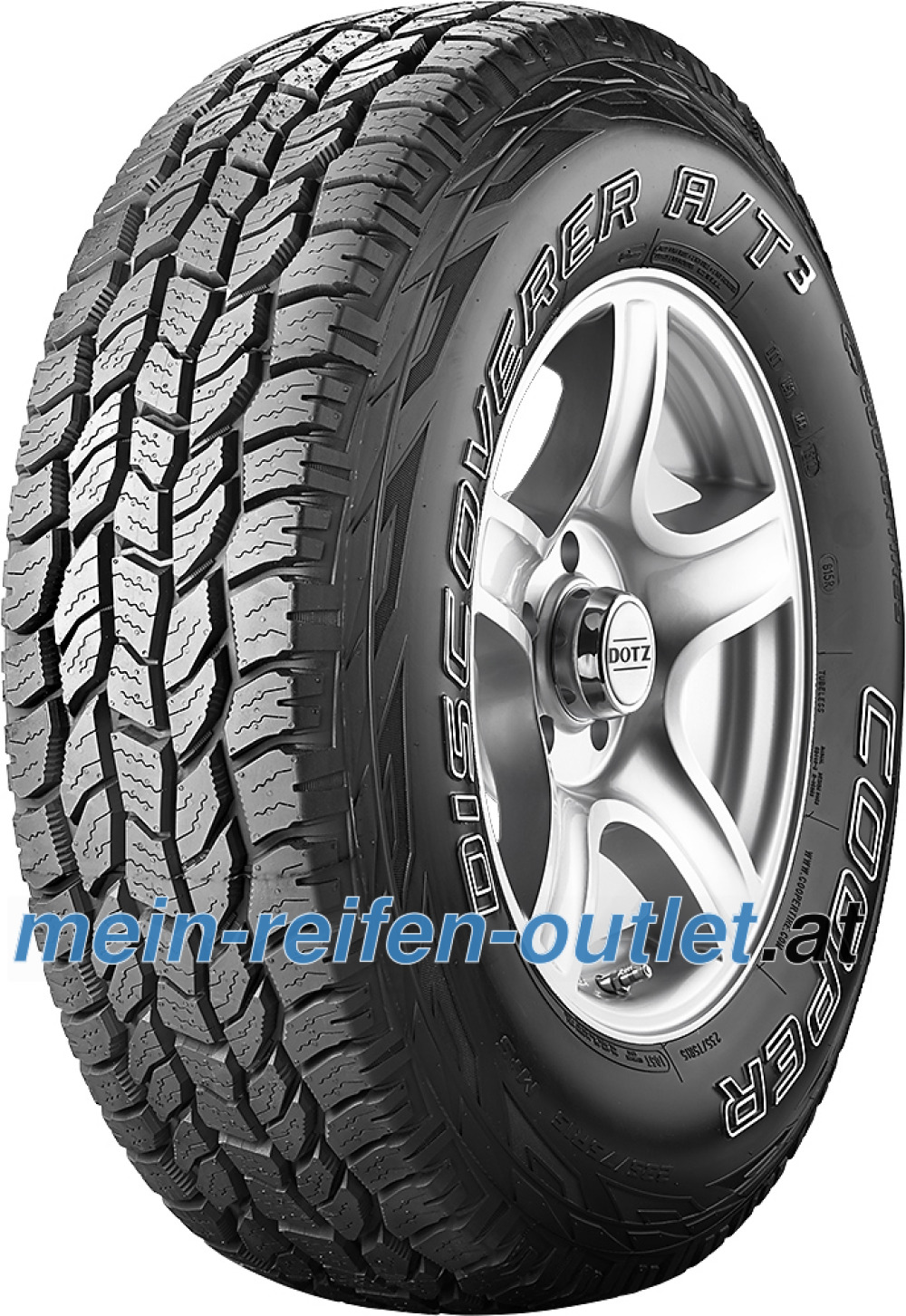 Cooper Discoverer AT3 ( 255/70 R17 112T OWL )