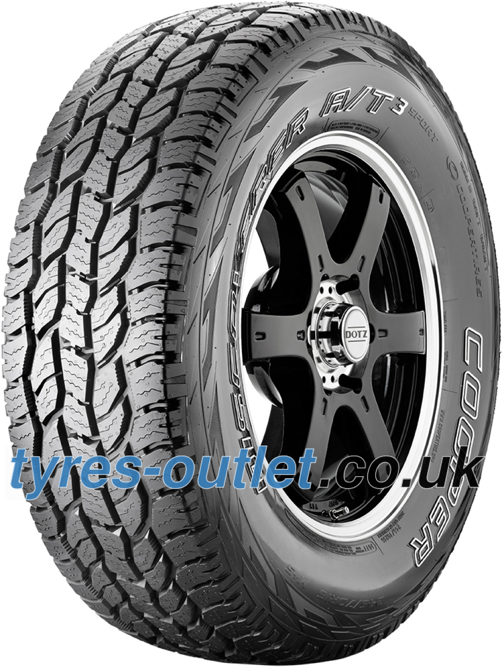 Cooper Discoverer AT3 Sport ( 265/60 R18 110T OWL )