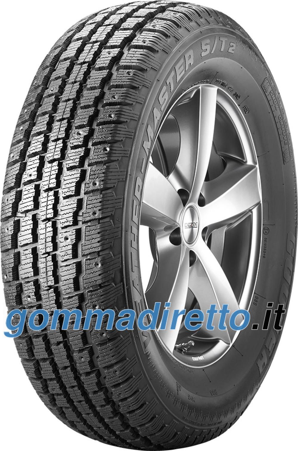 Image For Cooper Weather-master S/T2 ( 225/75 R15 102S pneumatico chiodabile WSS )