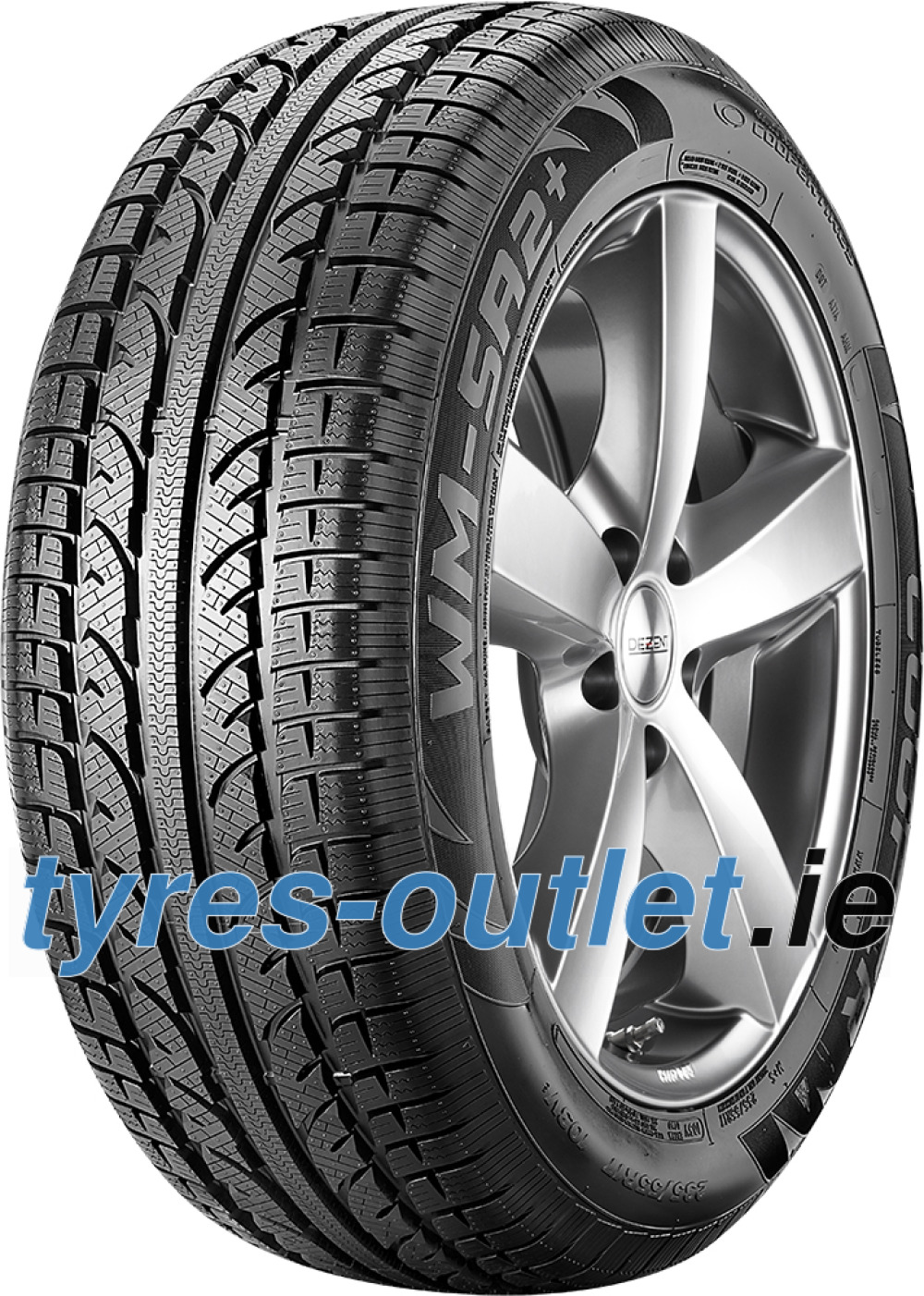 Cooper Weather-Master SA2 + ( 245/40 R18 97V XL , with Rim flange protection )