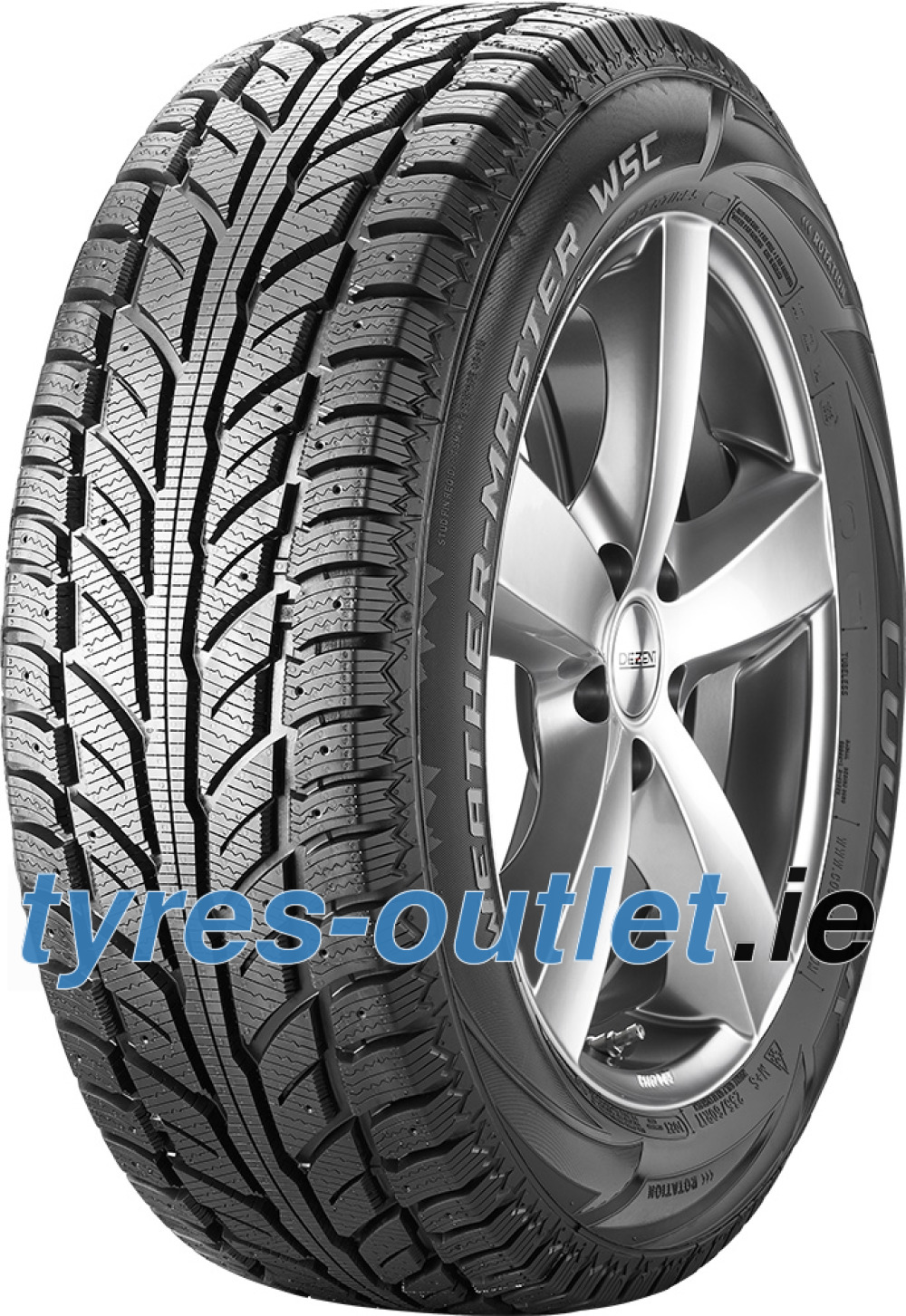 Cooper Weather-Master WSC ( 255/50 R19 107T XL , studdable )