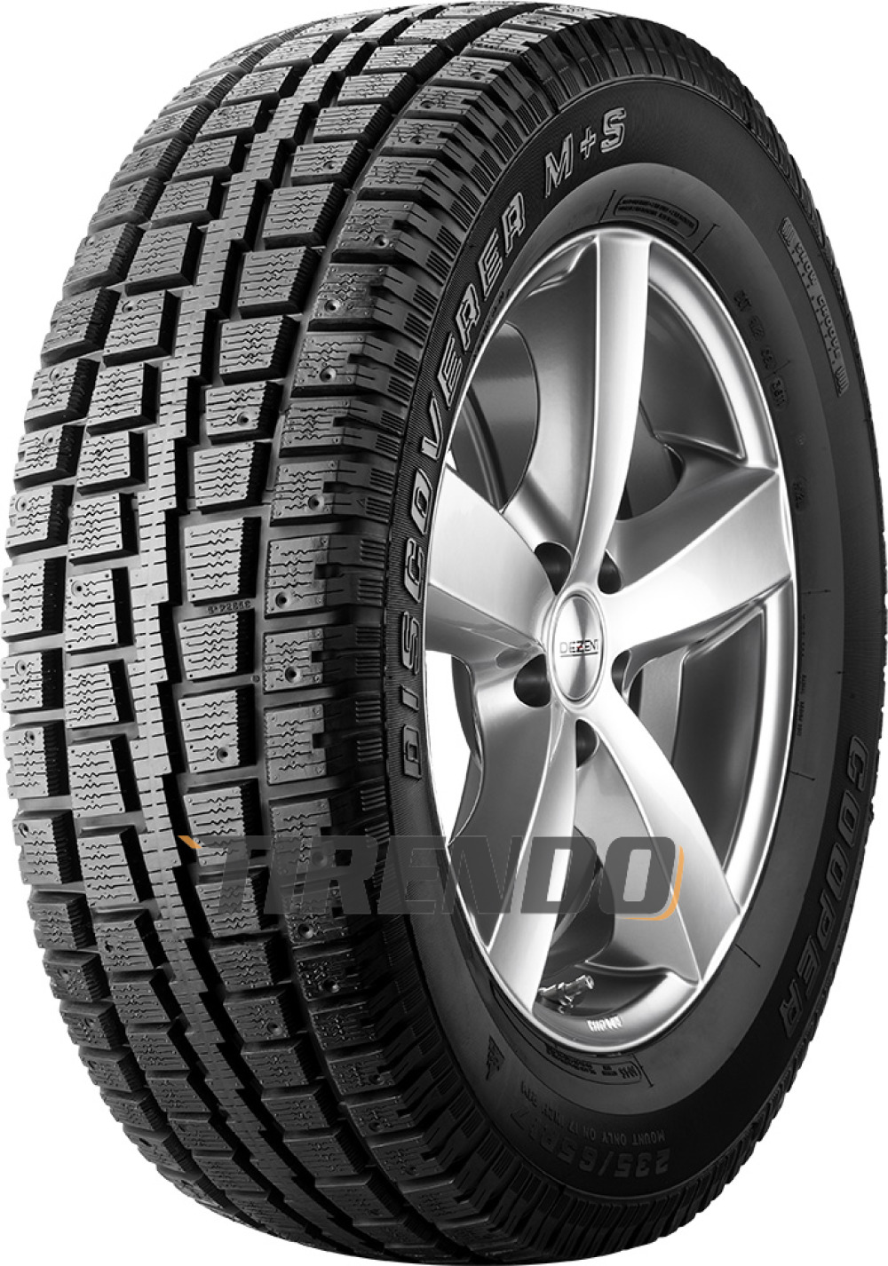 Image For Cooper Discoverer M+S ( 245/75 R16 111S , pneumatico chiodabile )
