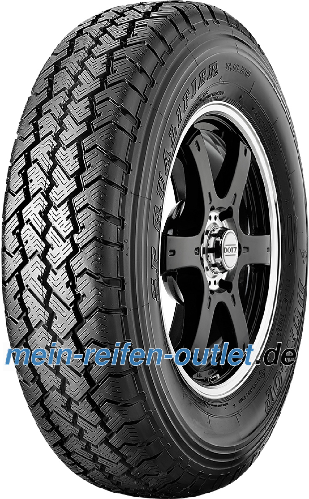 Dunlop SP Qualifier TG 20 ( 215/80 R16 107S XL )