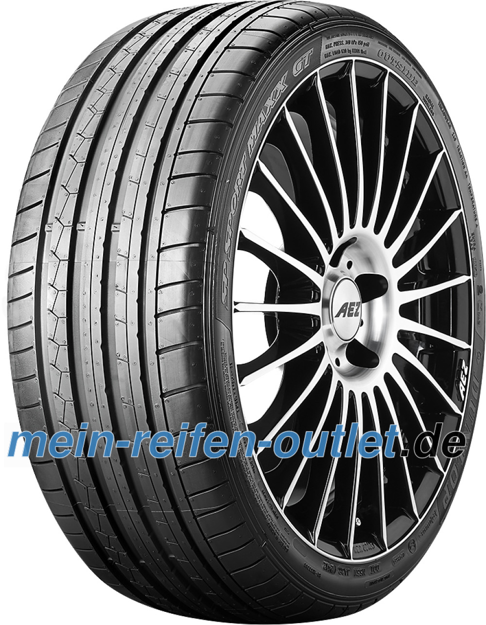 Dunlop SP Sport Maxx GT ( 275/45 ZR18 (107Y) XL J, mit Felgenschutz (MFS) )