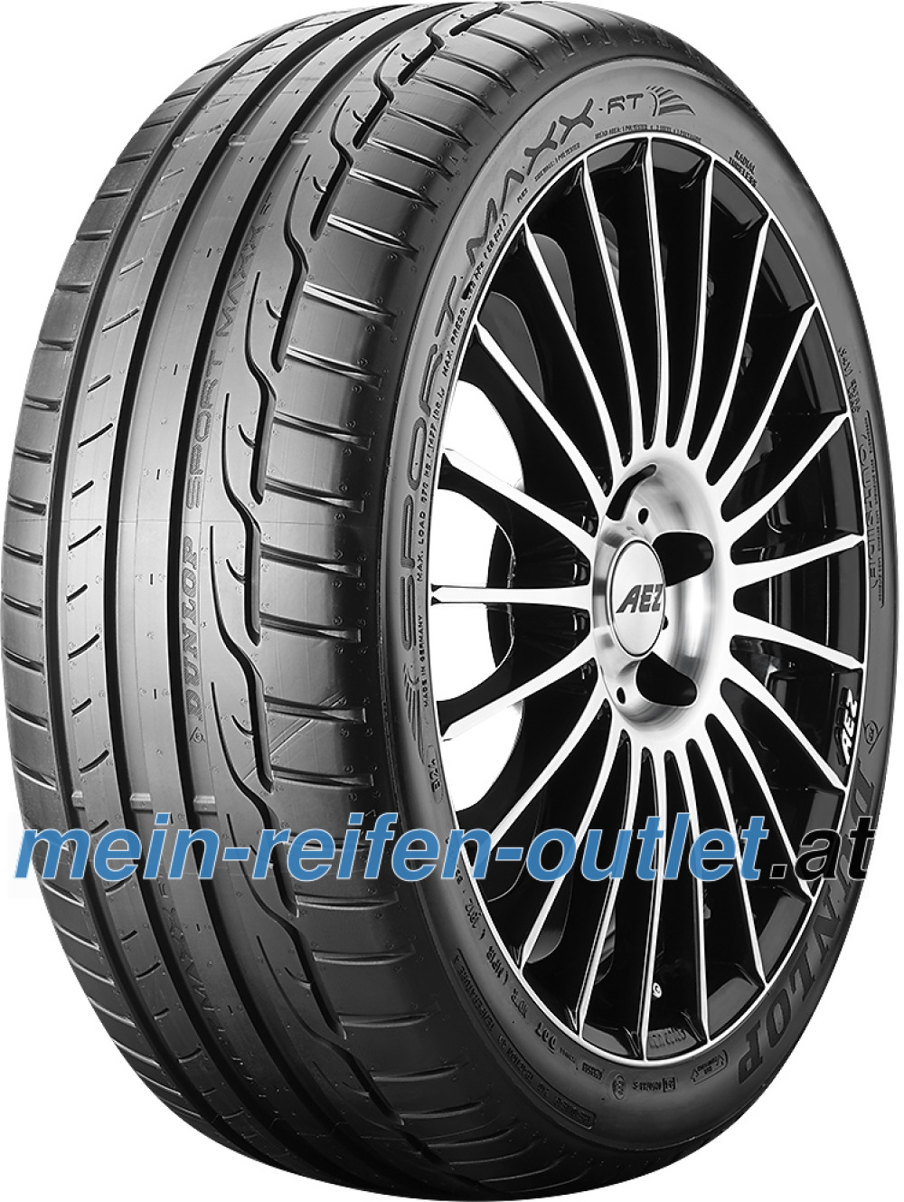 Dunlop Sport Maxx RT ( 225/45 R17 91W mit Felgenschutz (MFS) )