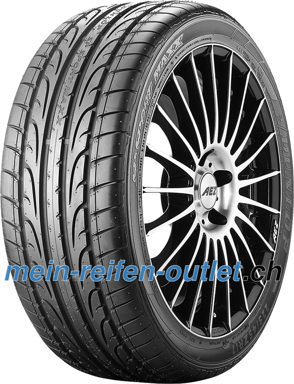 Dunlop SP Sport Maxx ( 295/35 R21 107Y XL mit Felgenschutz (MFS), RO1 )
