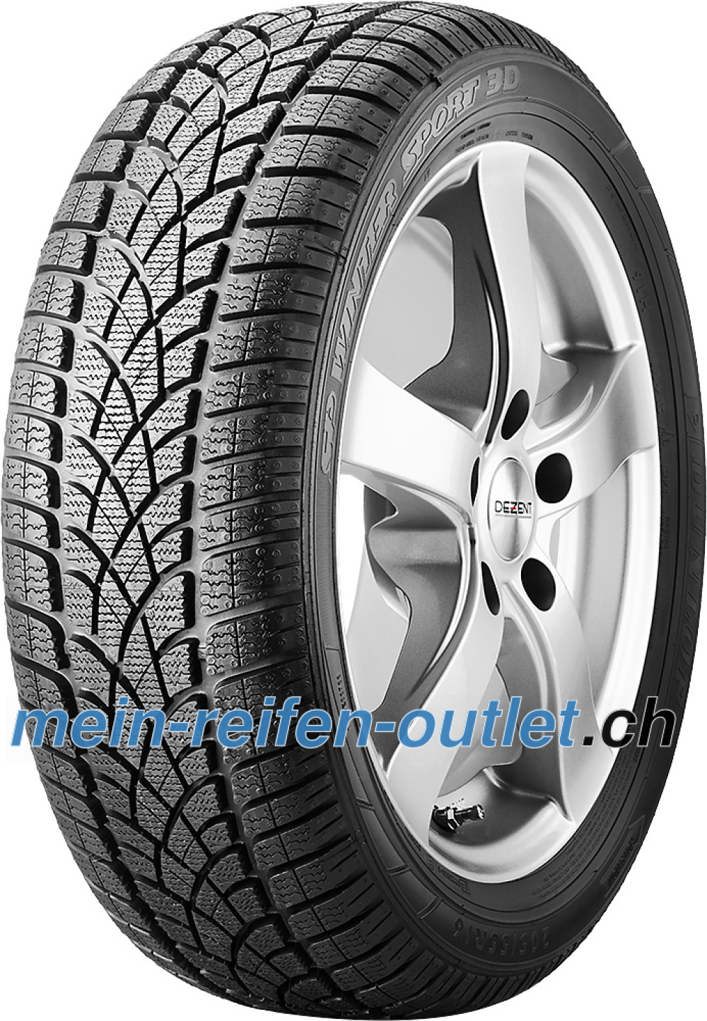 Dunlop SP Winter Sport 3D ROF ( 245/45 R18 100V XL *, runflat )