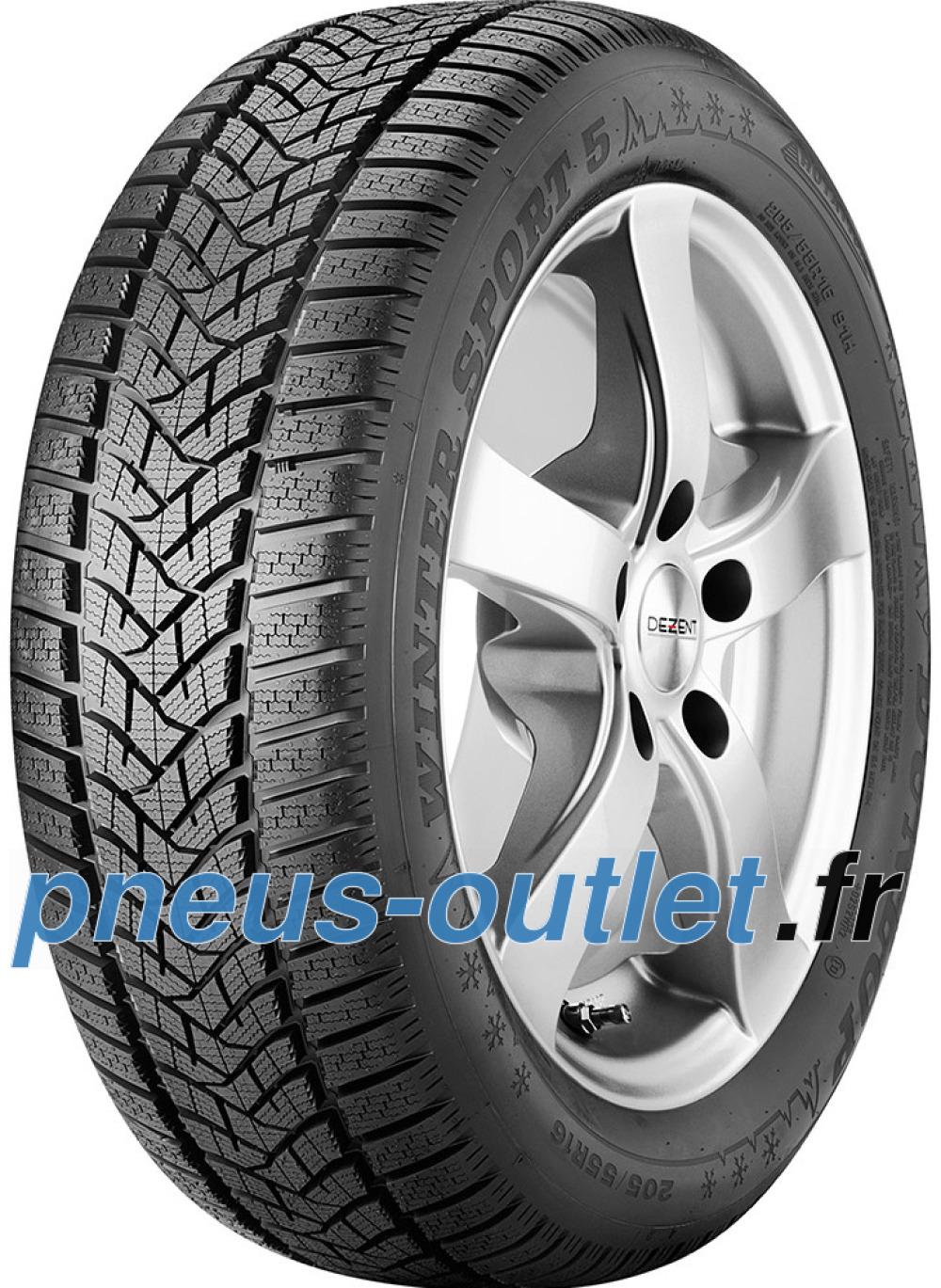 Dunlop Winter Sport 5 ( 255/45 R20 105V XL , MO, SUV, avec protège-jante (MFS) )
